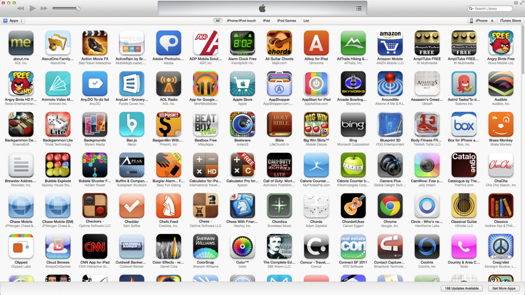 Top 100 ios apps