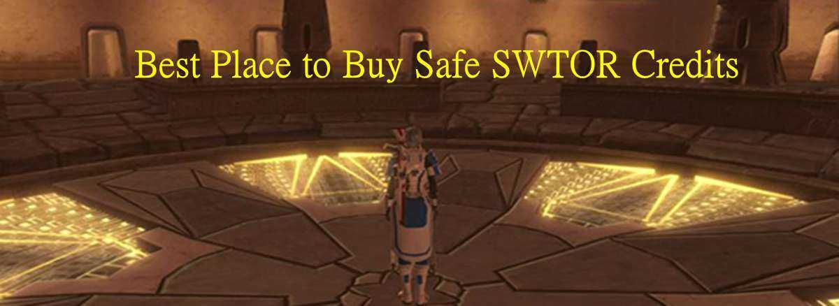 Where Is The Best Place To Buy Safe Swtor Credits The Good Place Places Best