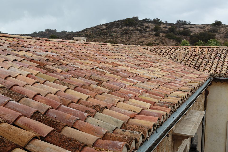 Spanish Spanish tile roof, Roof tiles, Exterior