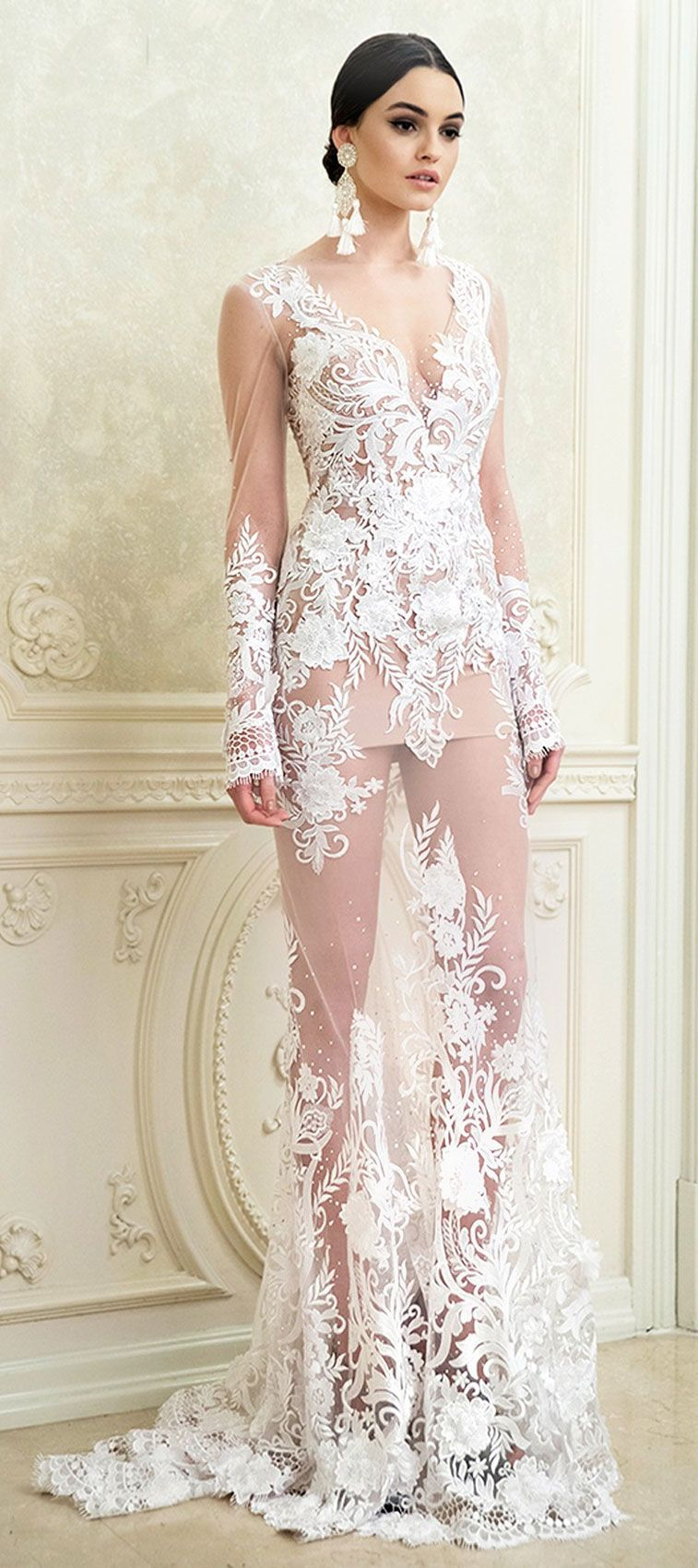 Tulle mermaid wedding dress  Wedding Dress Inspiration  Mermaid wedding dresses Wedding dress