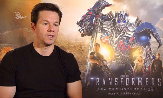"Mark Wahlberg, Nicola Peltz, Jack Reynor und Li Bingbing in ""Transformers: Ära des Untergangs"""