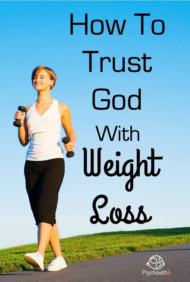 How to Trust God with Weight Loss #weightloss