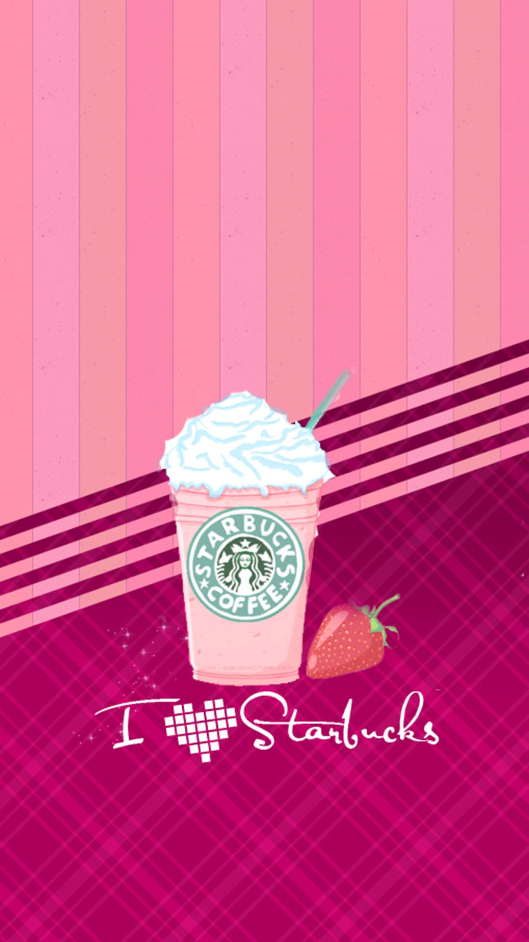 Downloaded From Girly Wallpapers Http Itunes Apple Com App Id1108375300 Thousands Of Hd Gi Iphone Wallpaper Girly Starbucks Wallpaper Wallpaper Iphone Cute