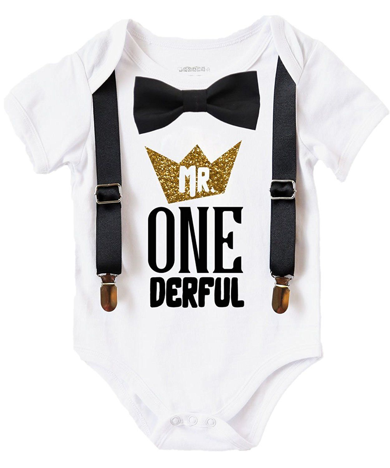 Noah's Boytique Mr Onederful First Birthday