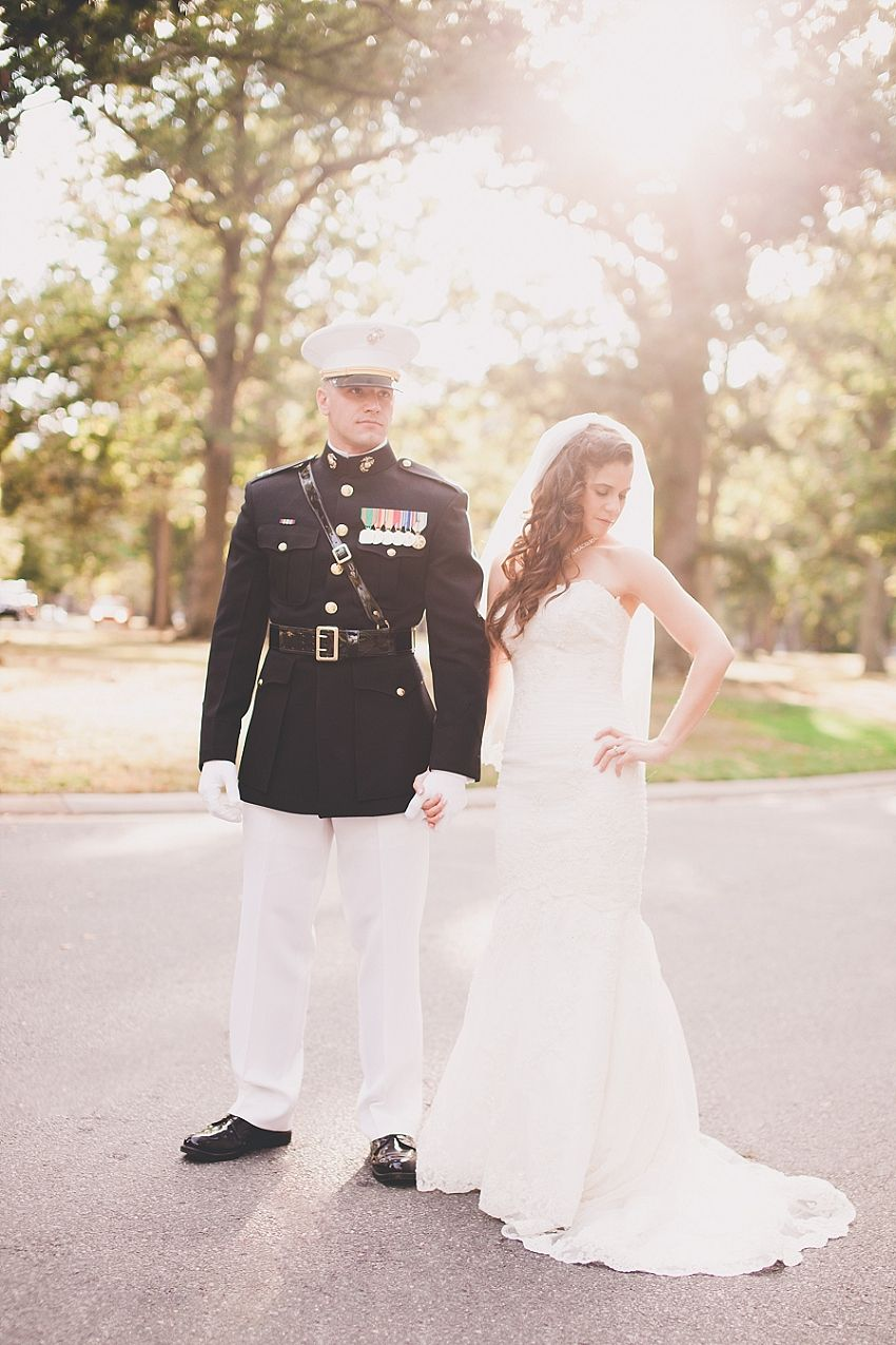 Fort Belvoir Marine Corps Military Wedding Virginia The Officer