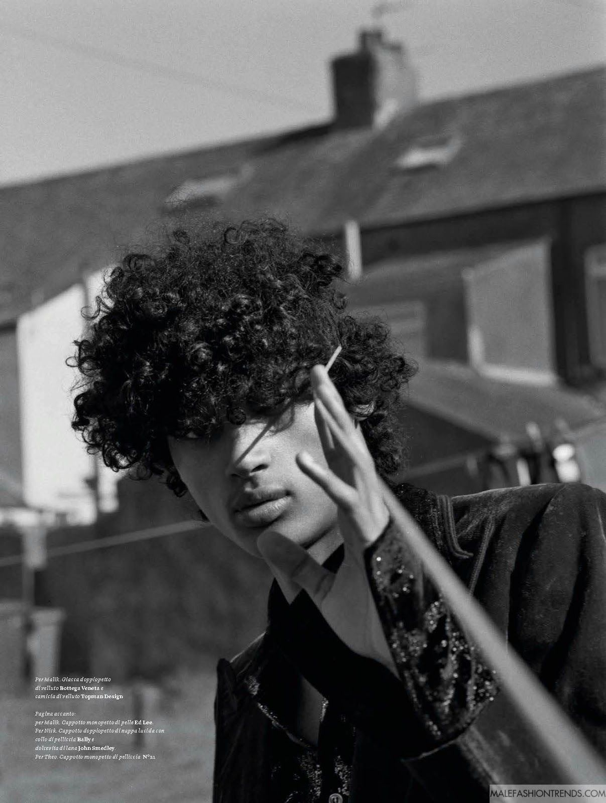 'La Rabbia Giovane': Editorial por Laurence Ellis para L'Officiel Hommes Italia Fall/Winter 2016