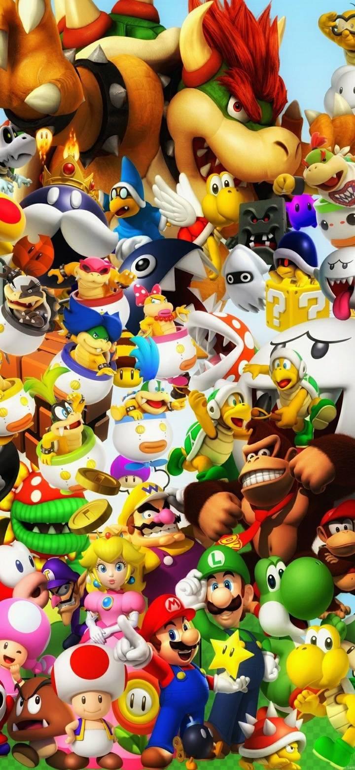 Los Mejores Wallpaper De Mario Bros Fondos De Pantalla De Juegos Fondo De Juego Fondos De Mario Bros
