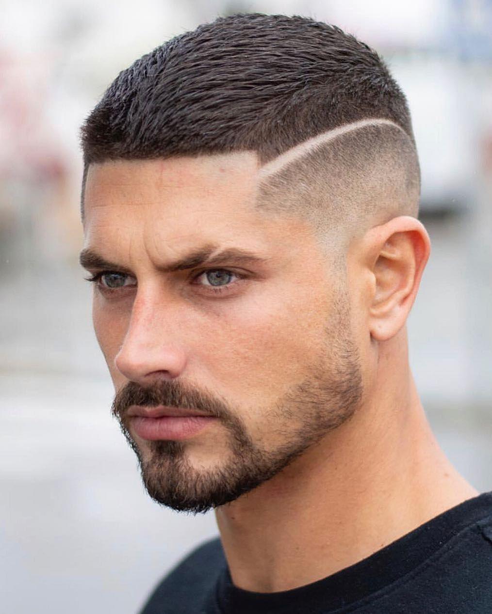 Tough Hair Look Men Mens Haircuts Short Haircuts For Men Mens Haircuts Fade