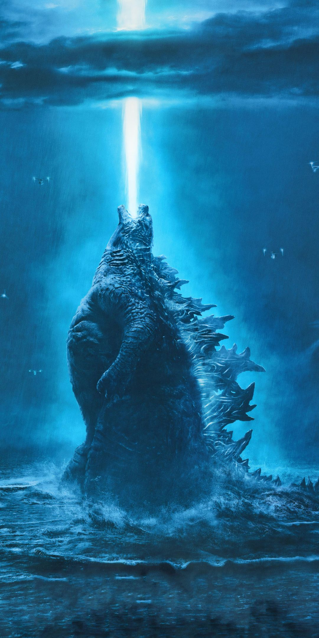 1080x2160 Godzilla King of The Monsters, movie, 2019