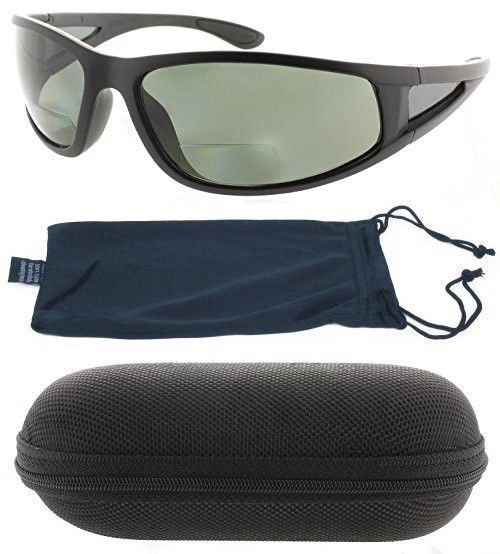 295dfe1174 Fiore Oceanside Polarized Bifocal Sunglasses Readers Invisible Line ...