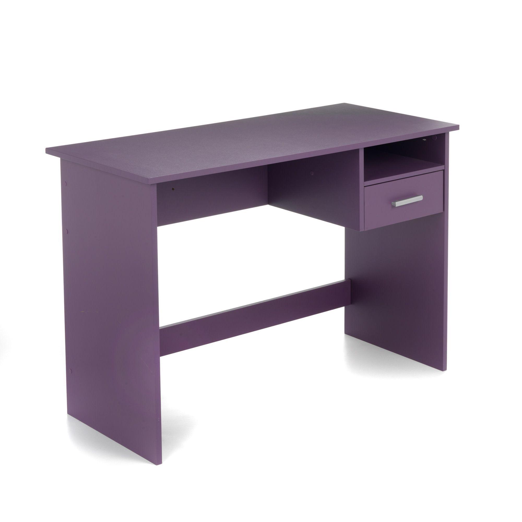 Bureau junior Violet - Pryce - Les bureaux enfants - Les meubles ...