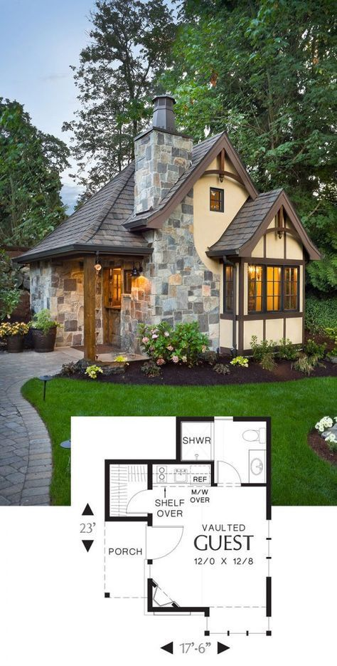 Photo of 27 Adorable Free Tiny House Floor Plans