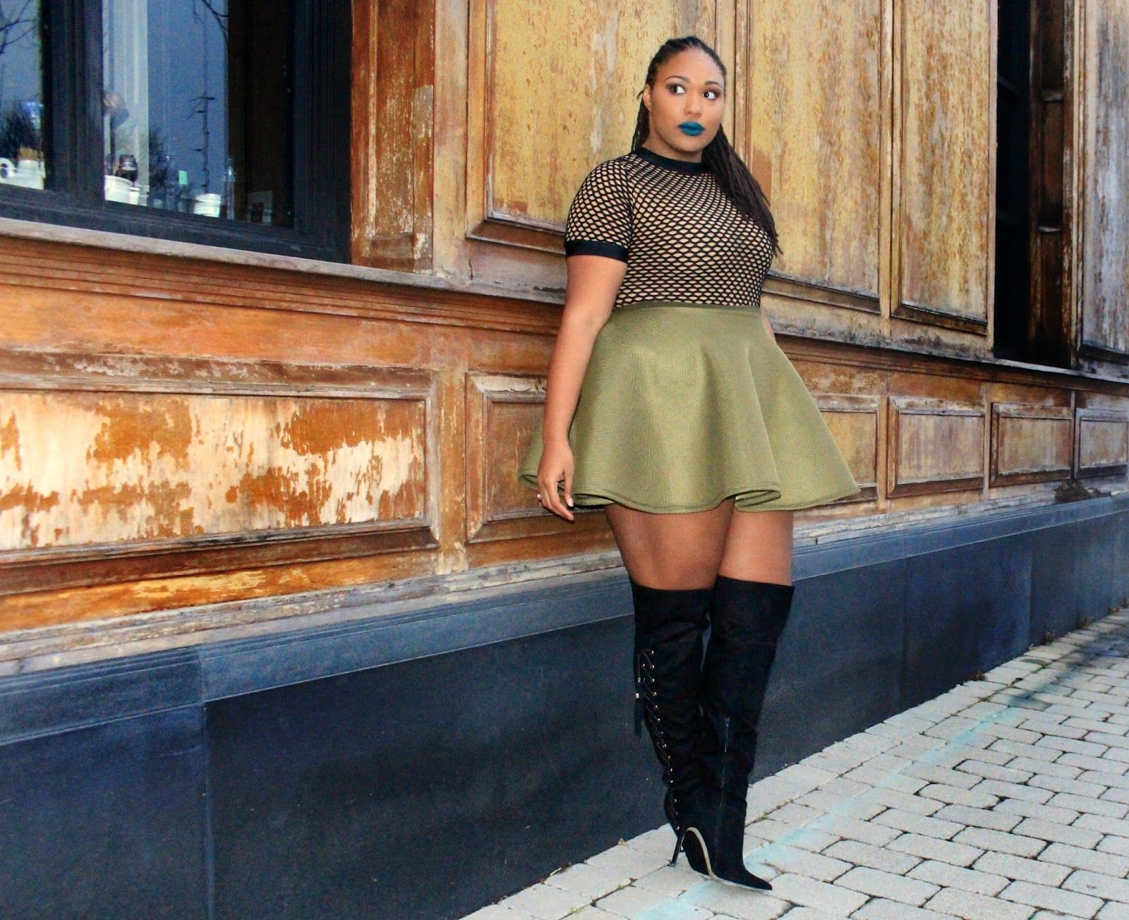 e0ff23e02 A Thick Girl's Closet: Thigh High Boots for NYE | Curvalicious ...