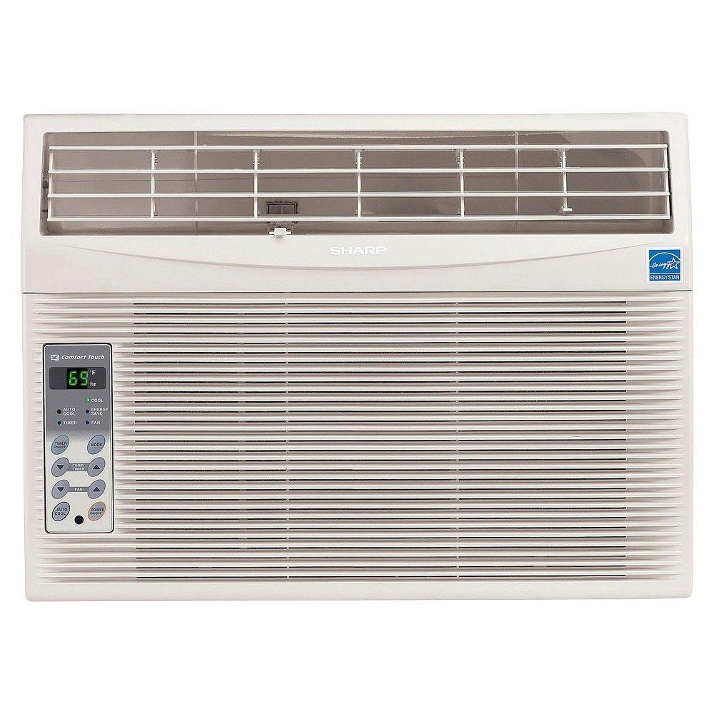 Sharp 10 000 Btu Energy Star Window Air Conditioner With Remote