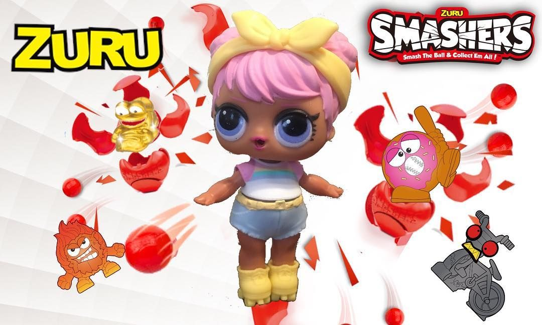 Have you opened any ZURU SMASHERS yet? Our LOLs did! And they found
