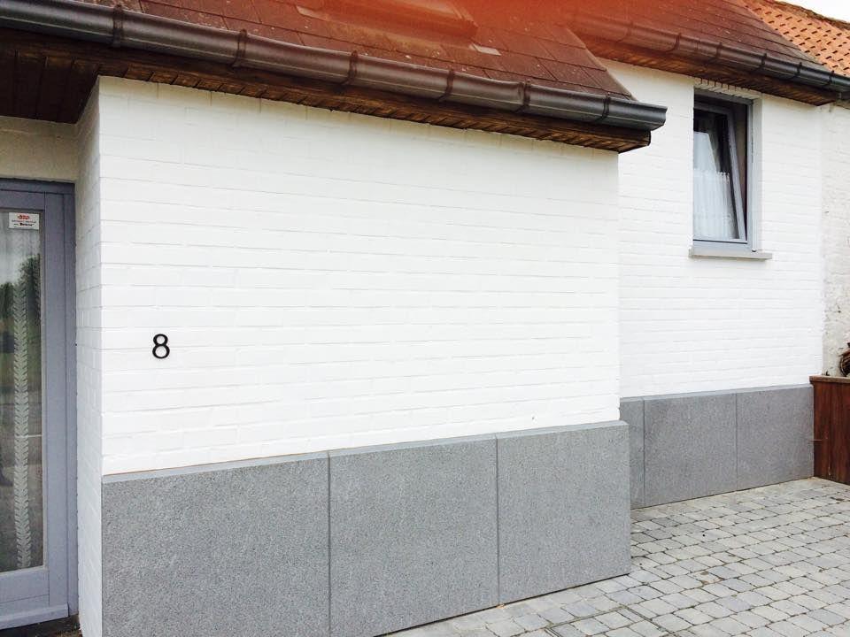 Pour rafraîchir cette maison, notre client à appliqué deux couches