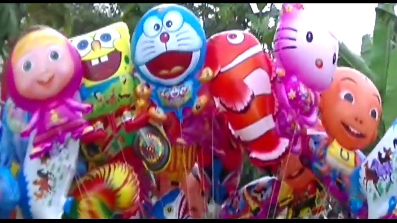 Video Banyak Penjual Balon Mainan Alphabetofpromises Balonterbang Balonkarakter Masha Doraemon Pokemon Boboiboy Upin Ipin