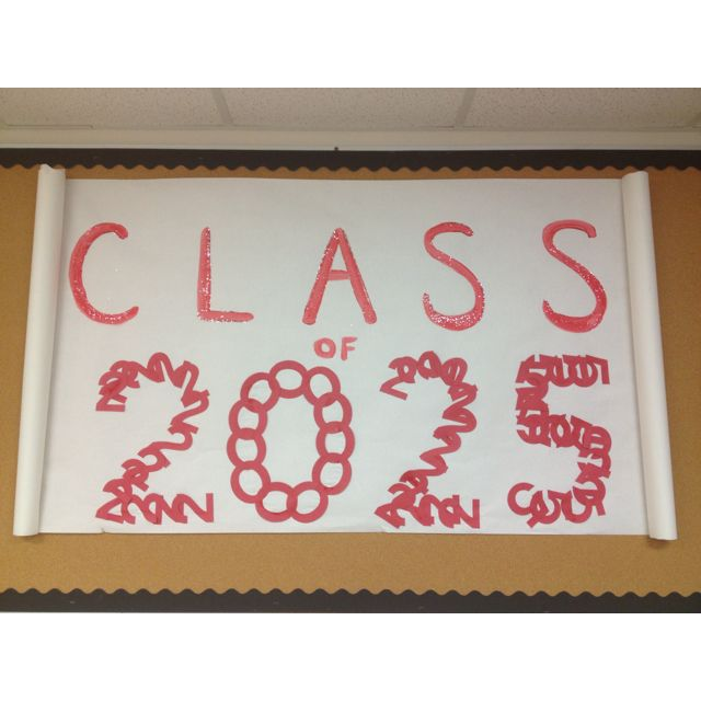 Bulletin Board Ideas Early Childhood: My Pre-K Class Graduation Sign ;)