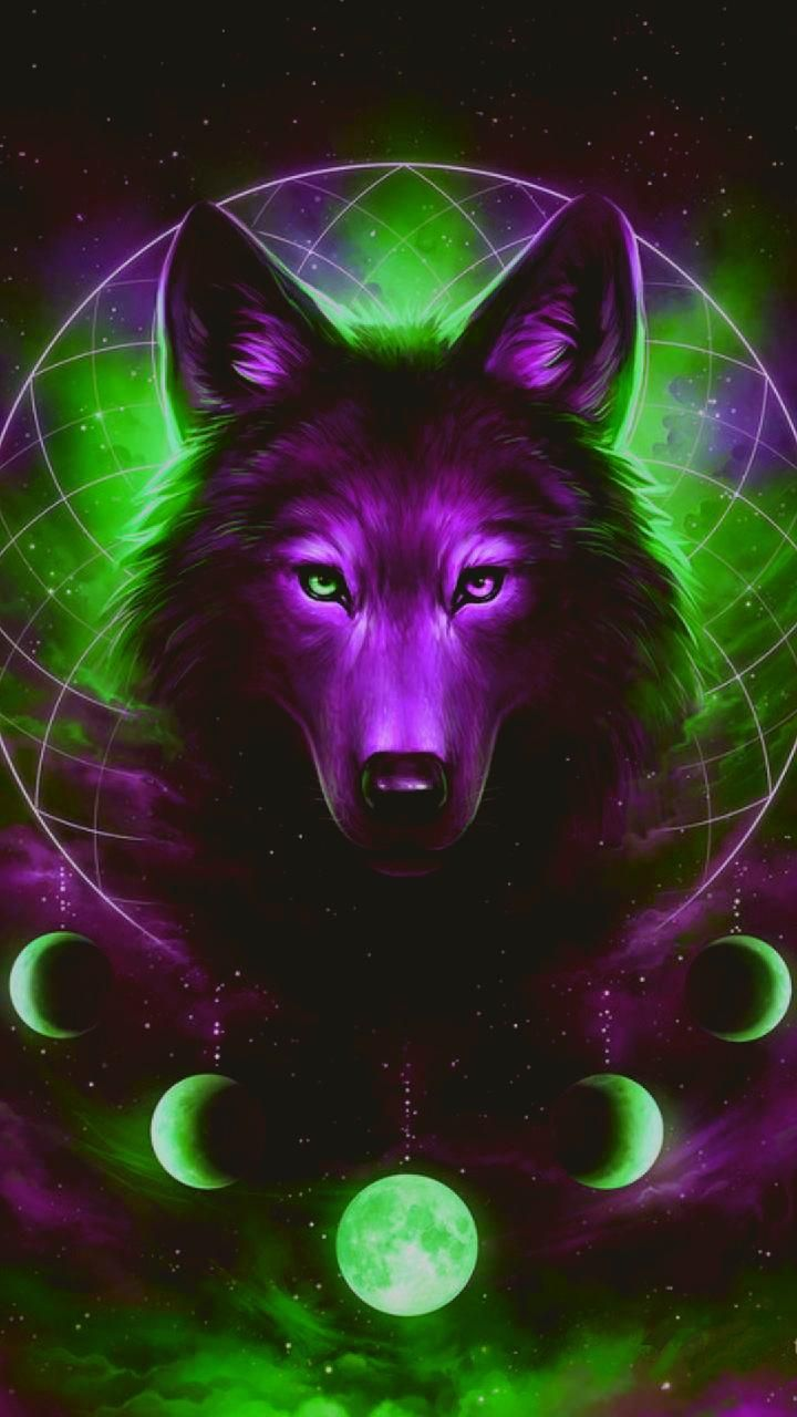 Photo of Galaxy wolf wallpaper by Lonewolf70123 – 4d – Free on ZEDGE™