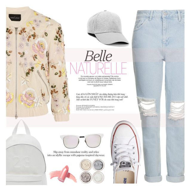 """One day, you`ll need me for something..."" by sweet-jolly-looks ❤ liked on Polyvore featuring Needle & Thread, Topshop, Converse, Elizabeth Arden, Joshua's and Westward Leaning"