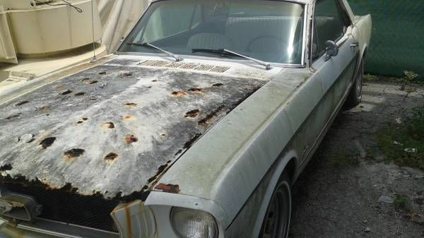 1965 Ford Mustang: Preserve or Part? - http://barnfinds.com/1965-ford-mustang-preserve-or-part/