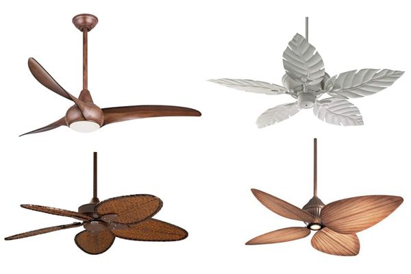 Tropical Inspired Outdoor Ceiling Fans