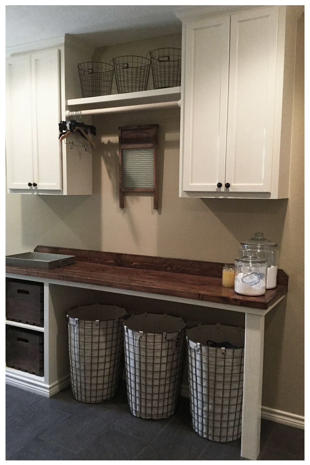 20 Amazing Unfinished Basement Ideas You Should Try Basement Laundry Room Makeover Laundry Room Shelves Laundry Room Diy