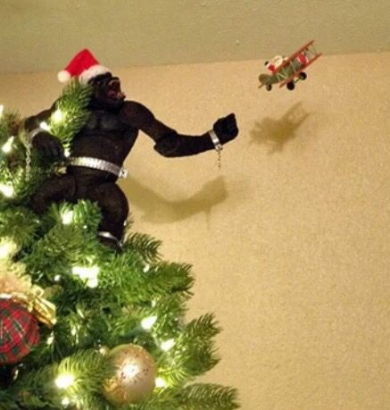 Funny Christmas Tree Toppers.Tree Topper Funny Funny Christmas Tree Creative