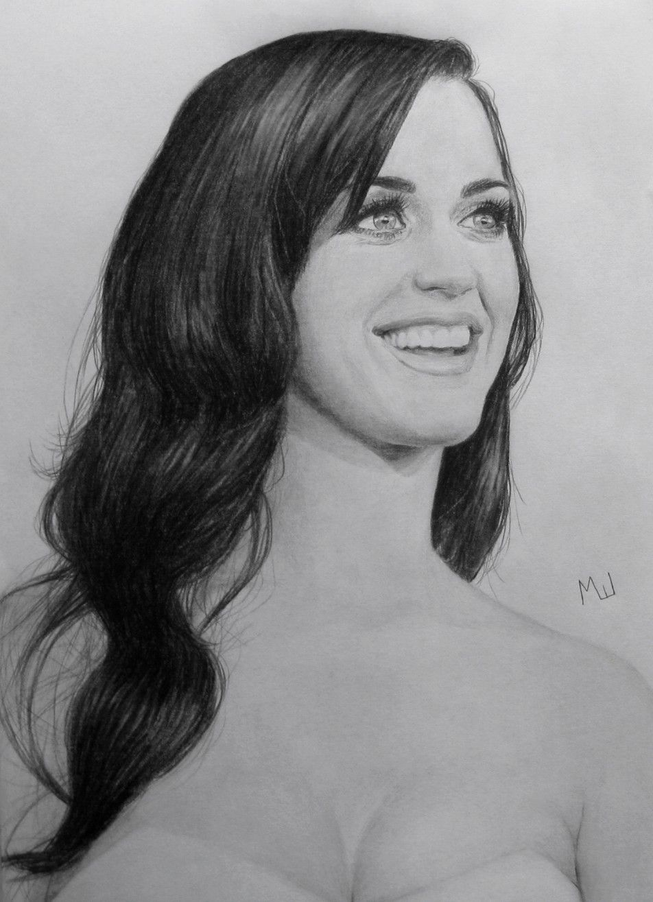 Uncategorized Katy Perry Sketch pencil portrait of katy perry drawing portraits perry