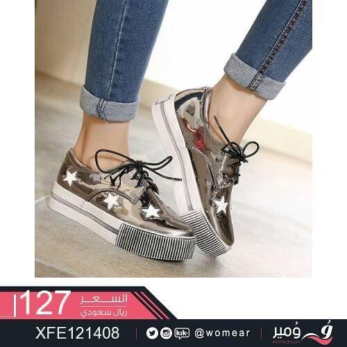 حذاء ستايل كاجوال انيق احذيه نسائيه شوز بناتي احذية شوزات جزم جزمات صبايا اناقة كشخة موضة دوا Stella Mccartney Sneakers Stella Mccartney Elyse