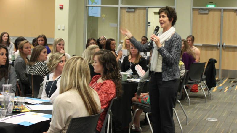 'Roos Host First Ladies Networking Night First lady