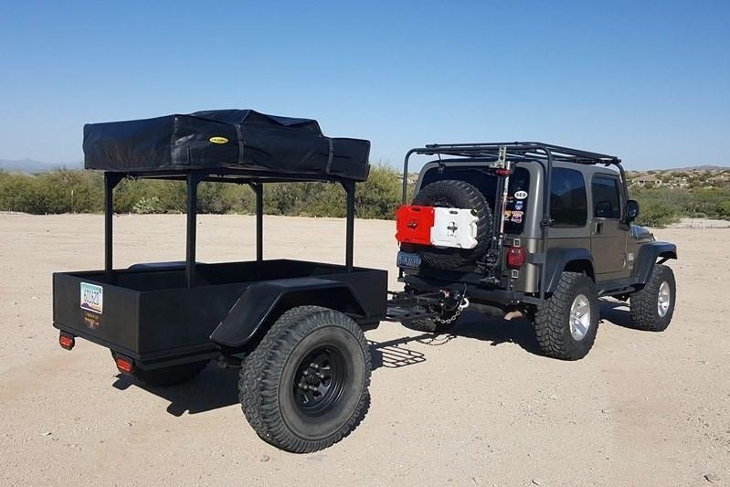 No Weld Trailer Rack Bracket Kits Utility trailer camper