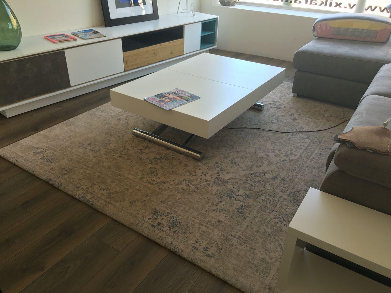 Mesa de centro elevable a comedor mesas de centro - Mesas salon extensibles ...