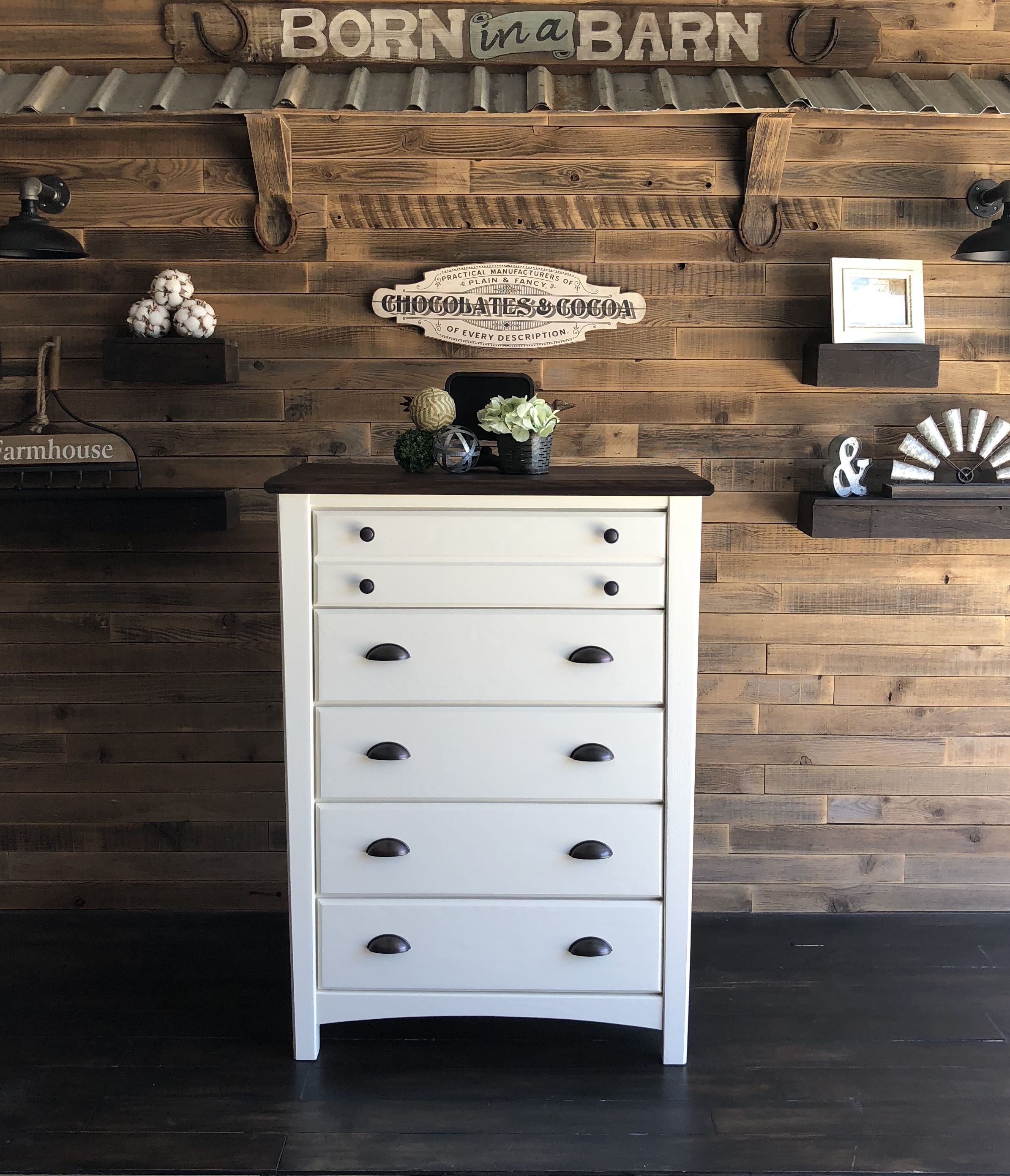 Refinish Furniture United States Born In A Barn Boutique White Painted Dressers Tall White Dresser Refinishing Furniture [ 2783 x 2390 Pixel ]
