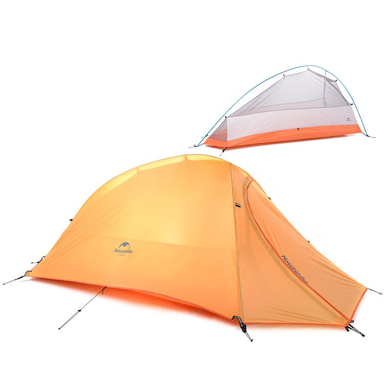 NatureHike 1 Person Double-layer C&ing Tent Waterproof Ultralight Tent Outdoor C& Equipment NH15T001-  sc 1 st  Pinterest : ultralight tent 1 person - memphite.com