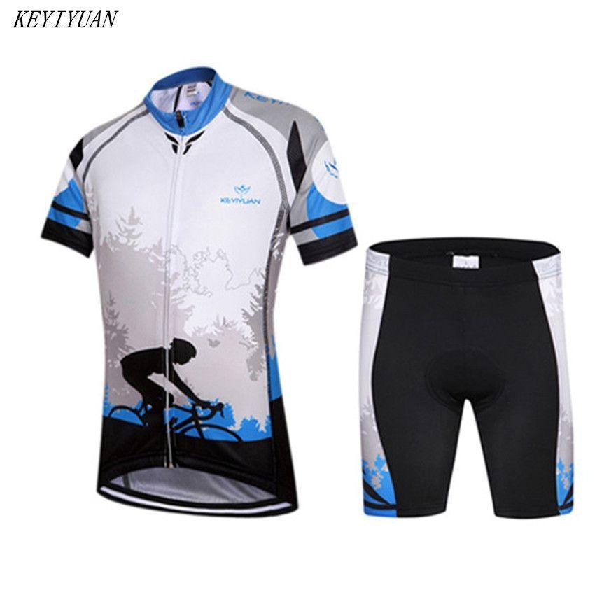 KEYIYUAN Children Cycling Jersey Bike Cycling Clothing Bicycle Short Sleeve  Jersey For Kids M-4XL 52d31ed22