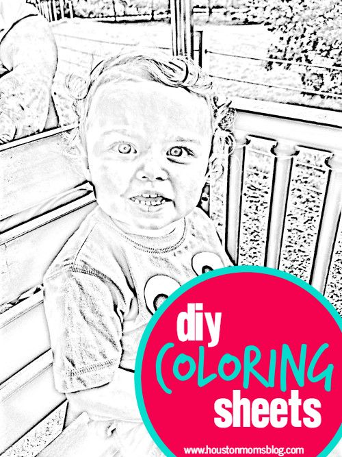 How to Create Your Own Fun and Personalized Coloring Book Sheets