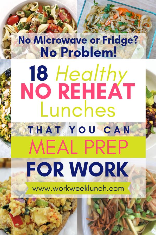 healthy no reheat meal prep recipes