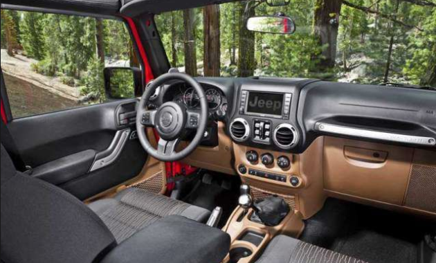 2018 Jeep Gladiator Interior Jeep wrangler unlimited