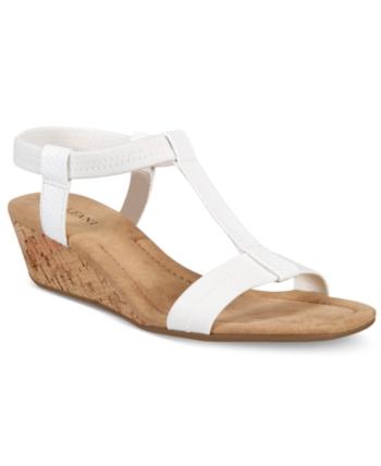 1054f12bc48b Alfani Women s Step  N Flex Voyage Wedge Sandals