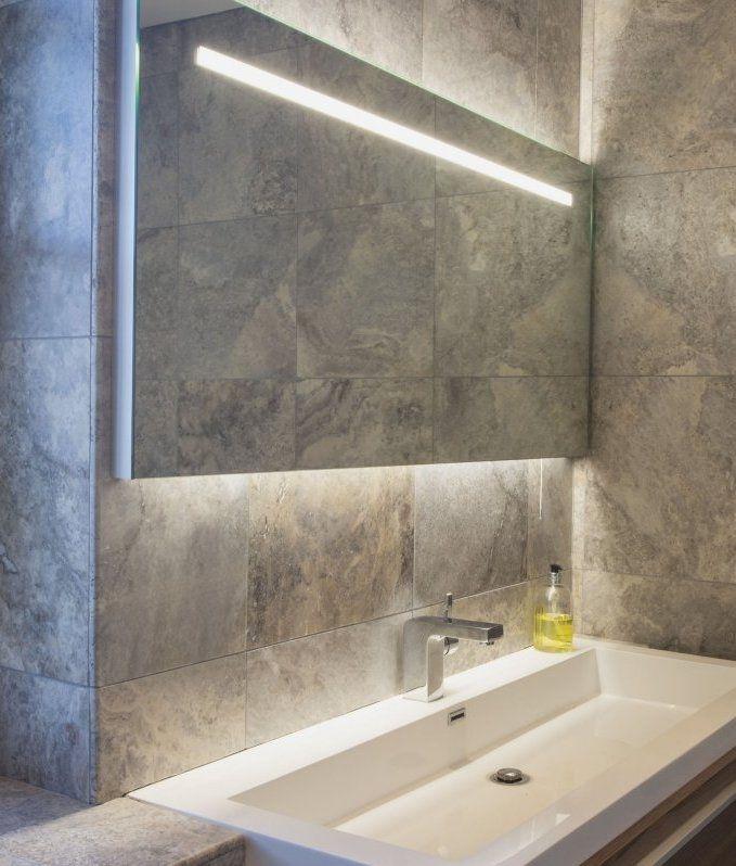 Tokai bathroom Spotlight Polished chrome finish frosted