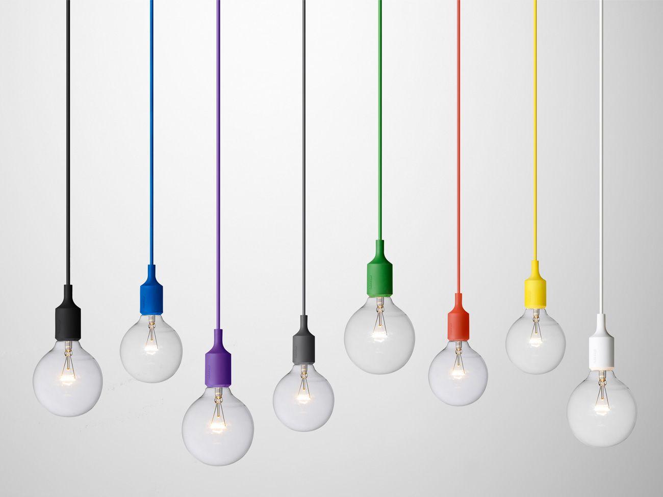 Pendelleuchten E27 von Muuto in allerhand Farben. | Leuchten ...