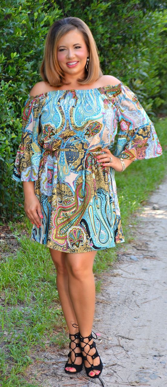Season Of Beginnings Dress / Tunic - Perfectly Priscilla Boutique