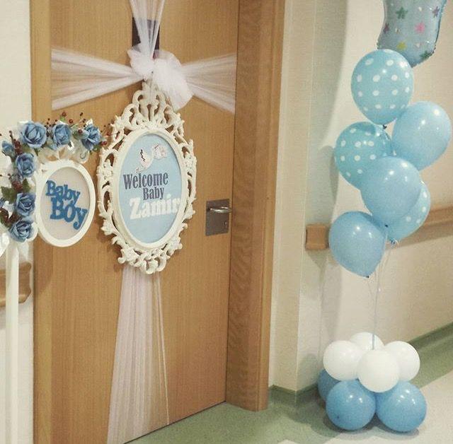 Welcome Baby Door Decorations