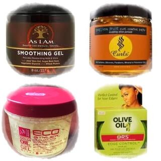 Edge Control Products When Transitioning To Natural Hair