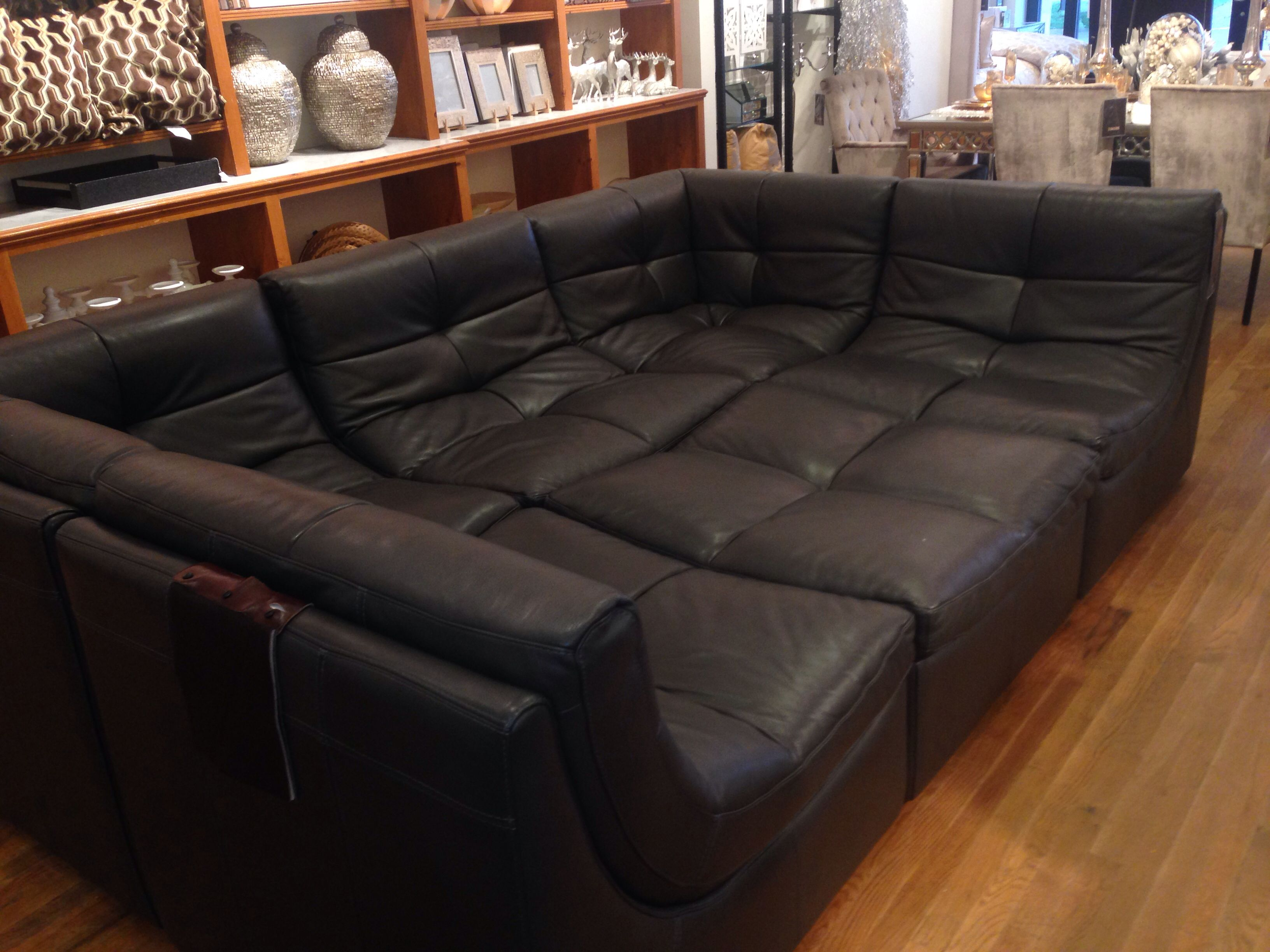 large couch for my place pinterest movie rooms. Black Bedroom Furniture Sets. Home Design Ideas