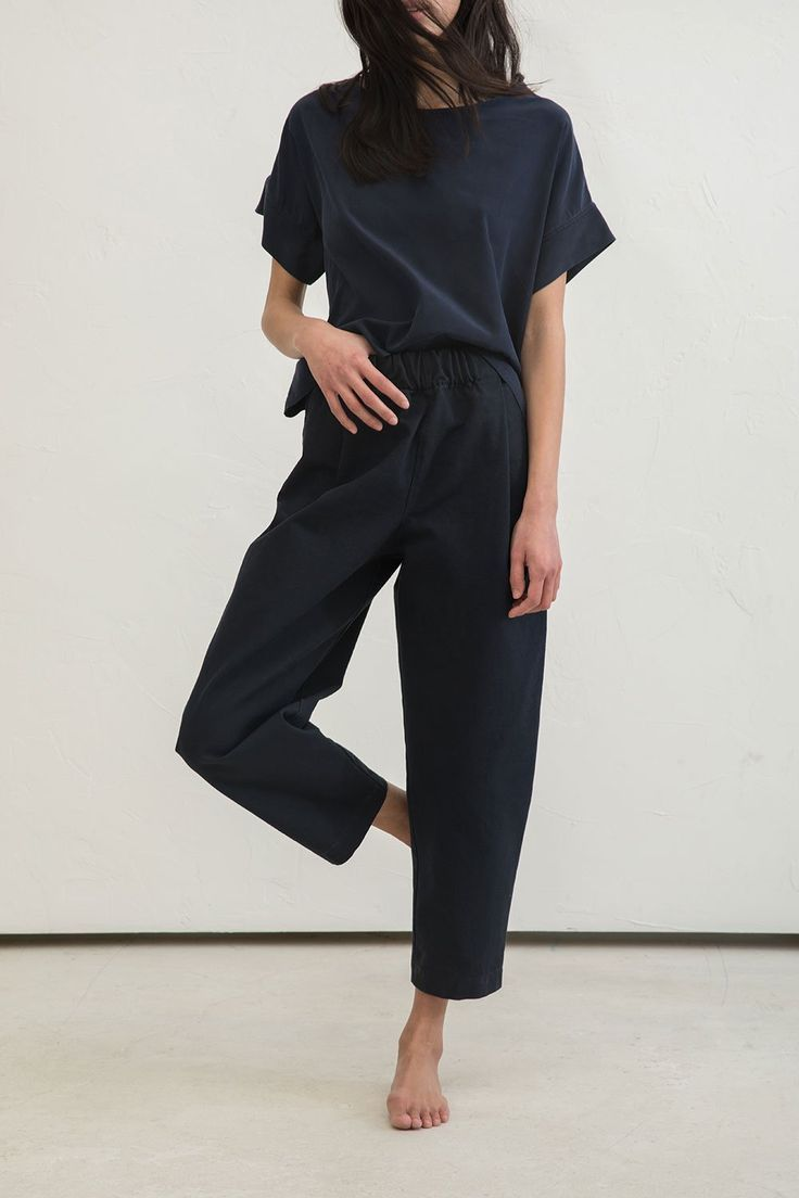 Photo of Andy pants made of cotton canvas – sport and women