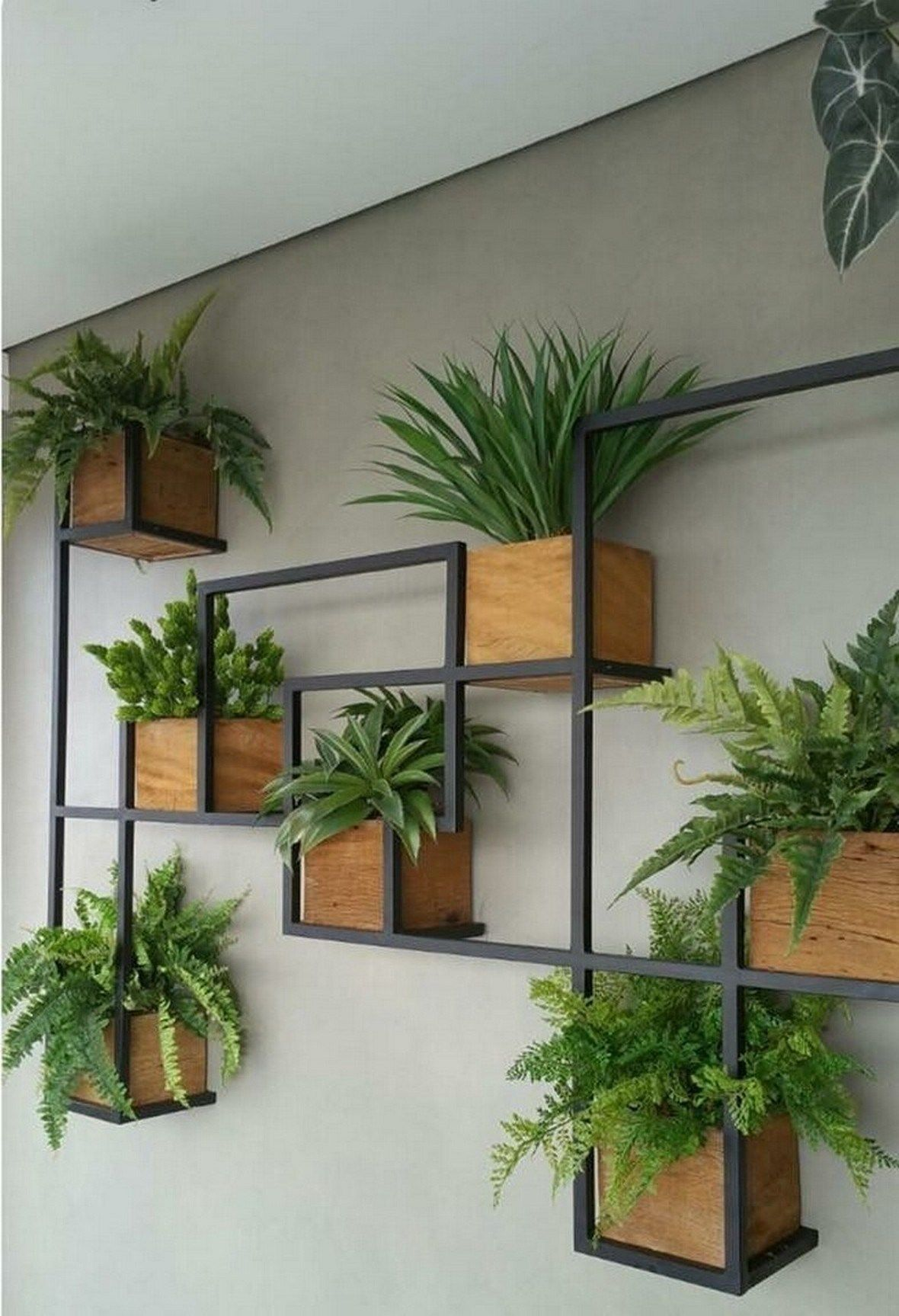 30 Modern And Elegant Vertical Wall Planter Pots Ideas Wallplanter Pots Ideas Indoor Outdoor Diy Wall Planters Indoor House Plants Decor Wall Planters Outdoor