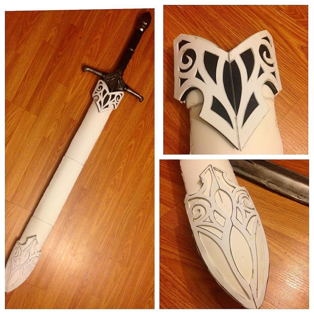 Started Construction On The Scabbard For My Sword All Custom Origami An Style Patterns And