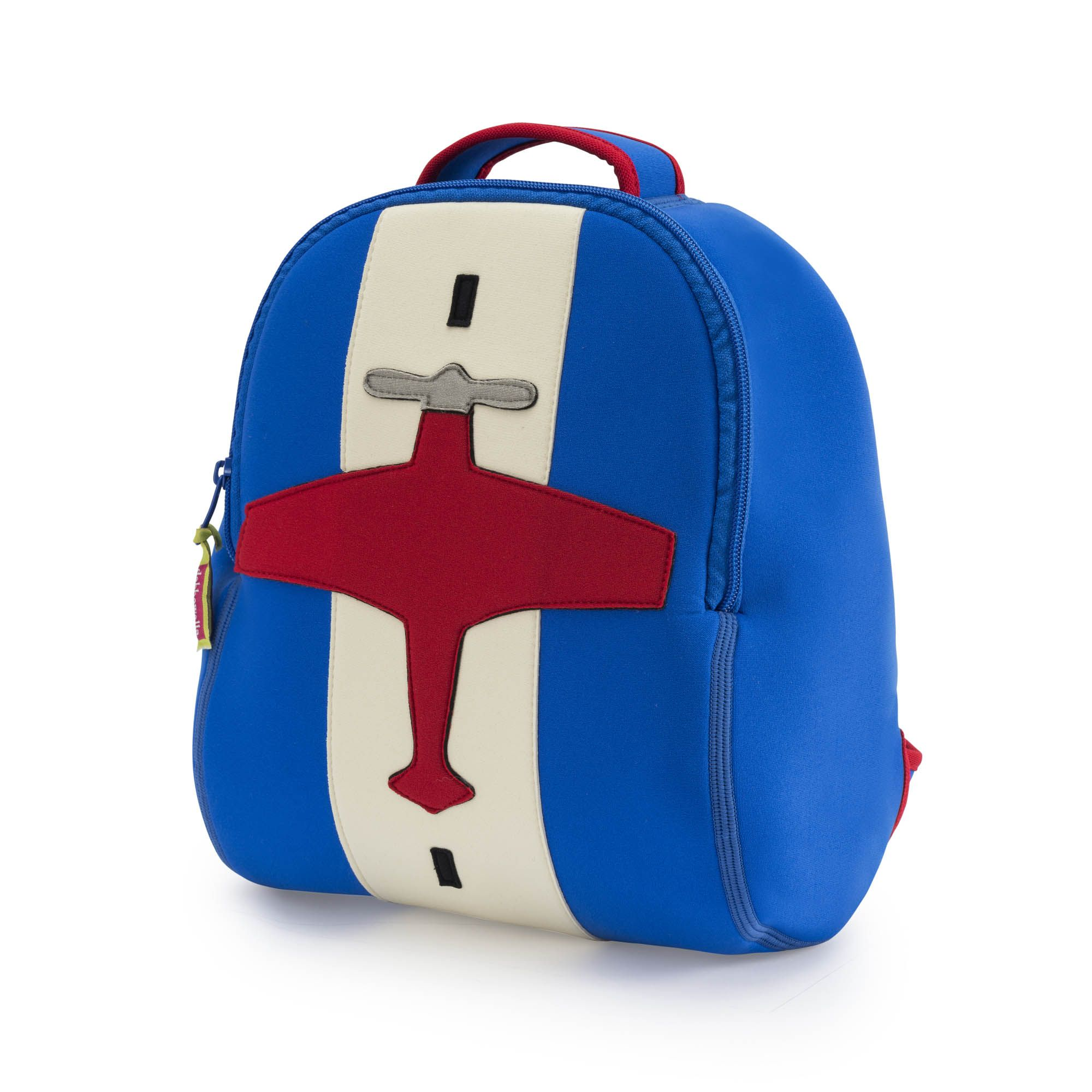 Aim for the clouds with this insulated and machine washable backpack  designed to stash all your little pilots gear and toys while flying off to  preschool. 729c78f95ff57